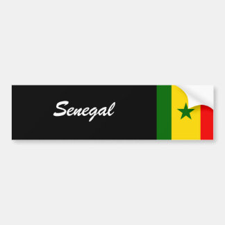 Senegal Bumper Sticker