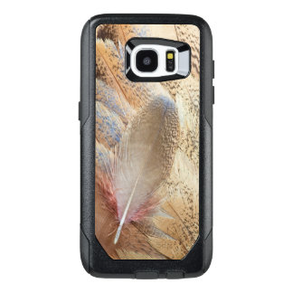 Senegal Bustard Feather Still Life OtterBox Samsung Galaxy S7 Edge Case