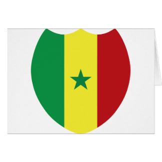 Senegal Card
