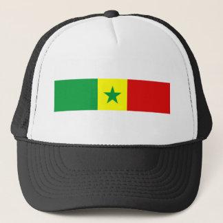 senegal country flag nation symbol trucker hat