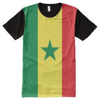 Senegal Flag All-Over-Print T-shirt