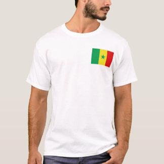 Senegal Flag and Map T-Shirt