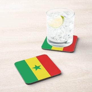 Senegal Flag Coaster