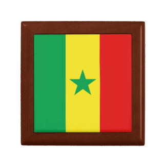 Senegal Flag Gift Box