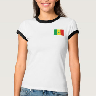 Senegal Flag + Map T-Shirt