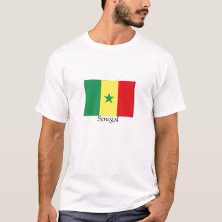 Senegal flag souvenir tshirt