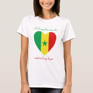 Senegal Flag Sweetheart T-Shirt