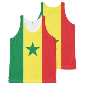 Senegal Flag Tank top