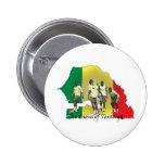 Senegal Futbol Pinback Button
