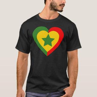 senegal-heart. T-Shirt