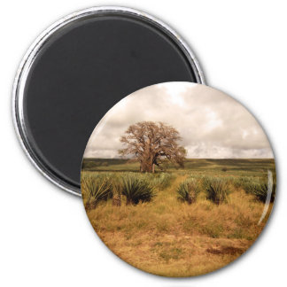 Senegal Landscape 6 Cm Round Magnet