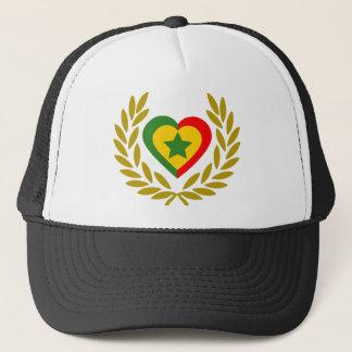 senegal-laurel-heart trucker hat