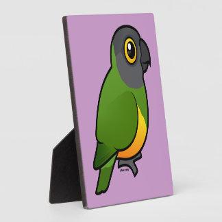 Senegal Parrot Plaque