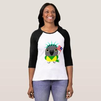 Senegal parrot USA American 4th of July T-Shirt