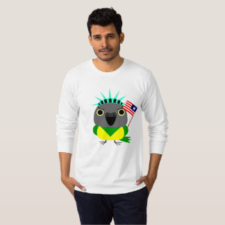 Senegal parrot USA American 4th of July T-Shirt