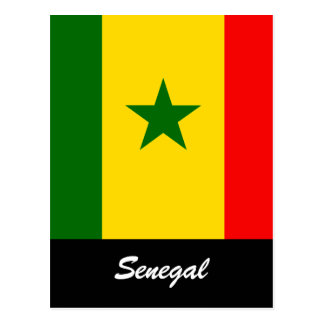 Senegal Postcard