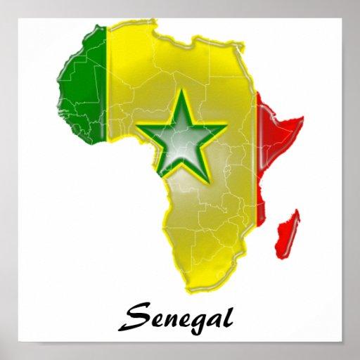 Senegal Poster