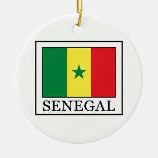 Senegal Round Ceramic Decoration