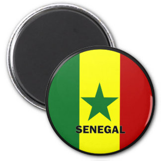 Senegal Roundel quality Flag Magnet