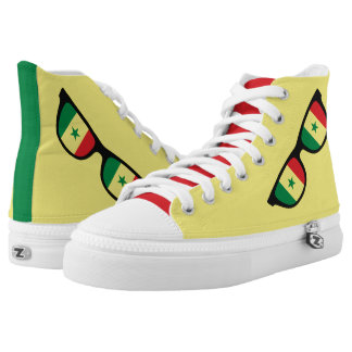 Senegal Shades custom sneakers