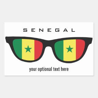 Senegal Shades custom stickers