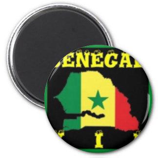 Senegal T-Shirt (urban Wear) Magnet