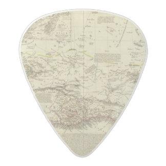 Senegambia, Sudan, Northern Guinea Acetal Guitar Pick