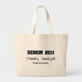 Senior 2011 canvas bag