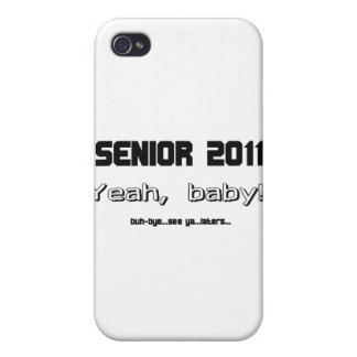 Senior 2011 cover for iPhone 4