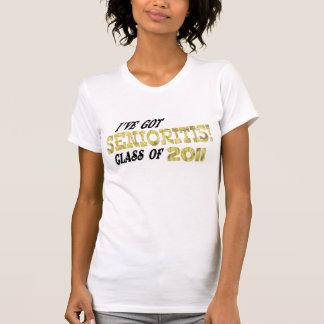 senior 2011 t-shirts