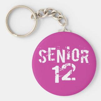 Senior 2012 Class of 12 Keychains