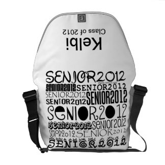 Senior 2012 Rickshaw Messenger Bag