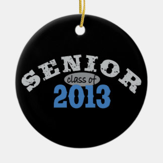 Senior 2013 Blue Ornaments