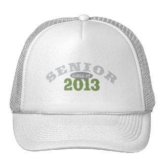 Senior 2013 Green Cap