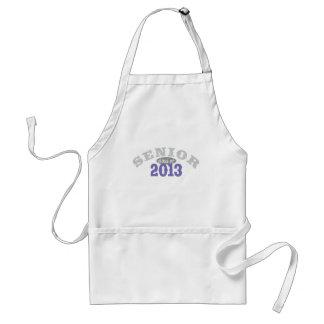 Senior 2013 Purple Standard Apron