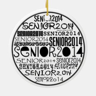 Senior 2014 - Rearview Mirror Ornament