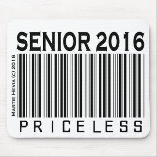 Senior 2016: Priceless - Mousepad