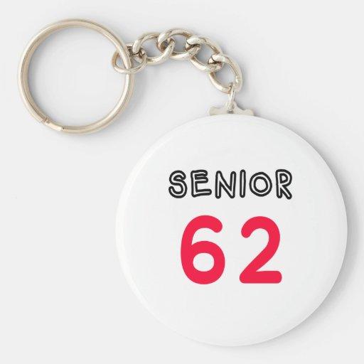 Senior 62 keychain