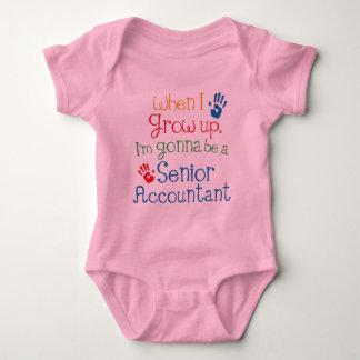 Senior Accountant (Future) Child Baby Bodysuit