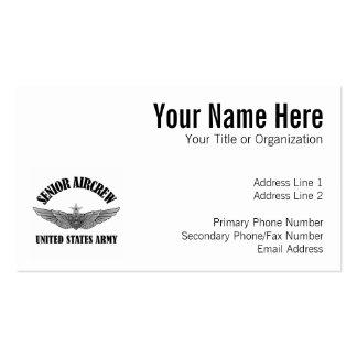 Senior Aviation Badge Business Card