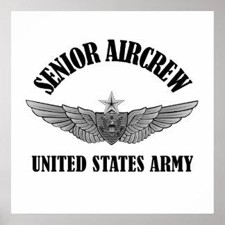 Senior Aviation Badge Poster