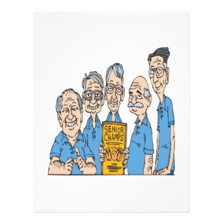 Senior Bowling Champs 21.5 Cm X 28 Cm Flyer