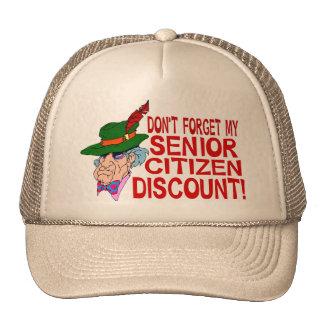 Senior Citizen Discount Cap