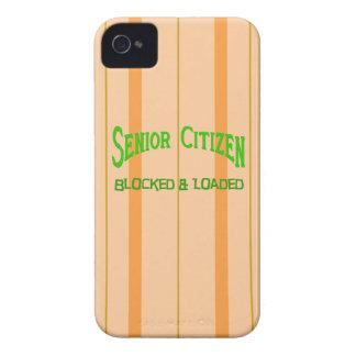 Senior Citizen iPhone 4 Case