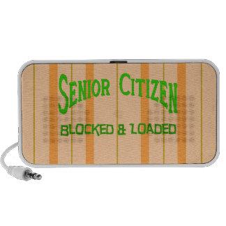 Senior Citizen Travelling Speakers