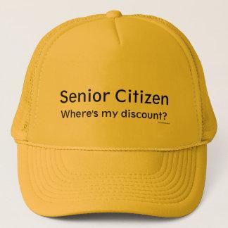 Senior Citizen Trucker Hat