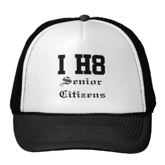 senior citizens hat