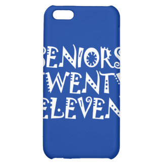 Senior Class 2011 White Cover For iPhone 5C