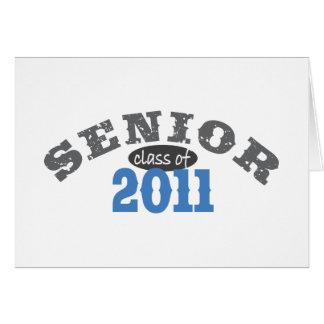 Senior Class of 2011 Card
