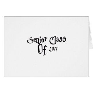 Senior Class Of 2011 Greeting Cards